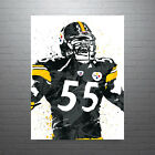 JuJu Smith-Schuster Pittsburgh Steelers Poster FREE US SHIPPING $14.99 USD on eBay