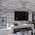 3D Luxury Victorian Embossed 10M Wallpaper Stone Feature Design Wall Paper Roll