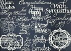 3 GROUPS COMBINED SENTIMENTS DIE CUTS* SUB-SETS LOTS 6-44 PCS. PHRASE WORD READ