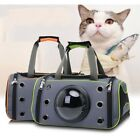 Pet Carrying Bag Outdoor Kitten Cat Dog Space Capsule Kit Three Shades Carrier
