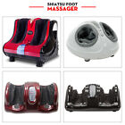 Shiatsu Foot Massager Kneading and Rolling Leg Calf Ankle Home Relax Black on eBay