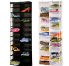 Over the Door Hanging Shoe Organizer Storage Holder Sorter For 26 Pairs Shoes