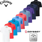 2018 Callaway Golf Tour Authentic II Polo Shirt opti stretch mens - Odyssey logo