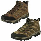 Merrell Mens Gore-Tex Walking Boots - Moab Mid