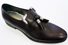 SALE! NEW GEOX x PATRICK COX MENS ALBERT TASSEL LOAFERS LEATHER SHOES BROWN 41D