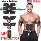 Smart ABS Simulator EMS Training Body Abdominal Muscle Exerciser AB & Arms USA image
