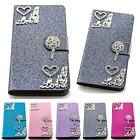 Glitter Pouch Heart Flip Case Cover Protection Cover Case Shell M227