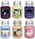Village Candle 26oz Large Glass Candle Jar with Lid Dual Wick Technology