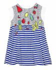 Deux par Deux Girls' Tunic with Back Opening Cold Press Fashion, Sizes 5-12
