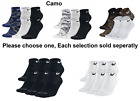 Nike Dri Fit Solid or Camo Low Cut Sock Unisex Chose 3 or 6