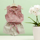lovely and cute baby - Baby Girls Floral Tops and Shorts Cute Lovely Summer Clothes Set