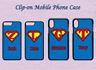 PERSONALISED SUPERHERO I PHONE COVER/CASE FITS IPHONE 5, 6, 7, 8, X