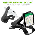 Cellet Universal Dashboard Phone Clip Mount for Galaxy S9+, Note 8, iPhone X,8+