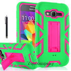 For Samsung Galaxy Core Prime Prevail LTE G360 Hybrid Clip Holster Case Cover