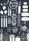 LOTS 6 - 37 PCS. SUB-SETS CELEBRATION DIE CUTS* PUNCH CANDLE GIFT CAKE BOW READ