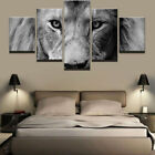 Animal Lion Modern Oil Paintings Canvas Art Poster Print Picture Home Art Decor