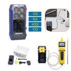 4 in 1 CO O2 H2S EX Toxic Gas Detector Monitor + External Self Sampling Gas Pump