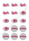 Cincinnati Reds Edible Print Cupcake/Cookie Toppers Frosting Sheets 2 Sizes on Ebay