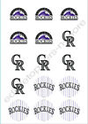 Colorado Rockies Edible Print Cupcake/Cookie Toppers Frosting Sheets 2 Sizes on Ebay