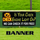 my check engine light is on - Is Your Check Engine Light On? We Fix It Free Business Advertising Banner Sign