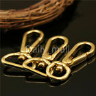 Внешний вид - Bag Clasps Lobster Swivel Trigger Clips Solid Brass Snap Hook 11 18 20 mm straps