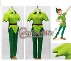NEW Peter Pan Green Fancy Cosplay Costume Custom Made all size