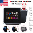 Внешний вид - Projection Digital Alarm Clock Snooze Weather Thermometer LCD Color Display LED