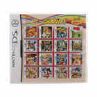 520/500/208 in 1 Game Cartridge For DS NDS 3DS Video Game Mario Naruto Pokemon New