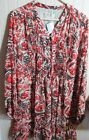 MICHAEL KOORS LADIES DRESS SIZE 8 & 14 ORANGE / BROWN MULTI NWT MSRP $150.00