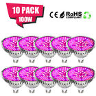 100W E27 LED Grow Light Bulbs Full Spectrum WithUV&IR For Greenhouse Hydroponic