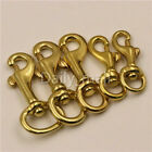 Внешний вид - Brass Swivel Round Eye Bolt Snap Hook Pet leash Dog chain Clips bag straps clasp