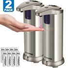 Внешний вид - Automatic Soap Dispenser Auto Sensor Touchless Soap Dispenser Stainless Steel