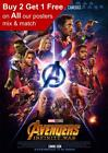 Marvel Avengers Infinity War Imax Movie Poster A5 A4 A3 A2 A1
