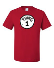 Внешний вид - Thing 1,2,3,4,5 Red T-Shirt 6 Months To 5XL The Best