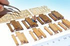 HO OO scale Picnic Table bench KIT Miniature model camping dollhouse diorama :87