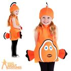 Toddler Clown Fish Costume Nemo Child Fish Fancy Dress Outfit Book Week Day Kids