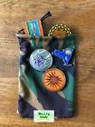 Geocoin and trackable storage bag. Camoflauge bags