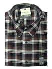 New St. John's Bay Men's Iron-Free Oxford Plaid Button-Front Casual Shirt LT $45