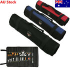 22 Pocket Chef Knife Bag Roll Knifes Carrying  Kitchen Portable Storage Pouch AU