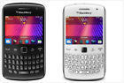 """BlackBerry Curve 9360-5MP- GSM Unlocked AT T 2.44""""-QWERTY Smartphone Black/White"""