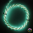 1m ULTRA Chasing EL Wire Tri-colour- £12 p/m-  Super Bright Glowing Motion Wire