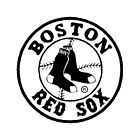 "Boston ""RED SOX"" vinyl Decal, adhesive graphic Sticker, for any flat surface on Ebay"