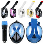 Anti-Fog Swimming Diving Full Face Snorkel Scuba Mask Surface for GoPro US