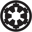 Star Wars Galactic Empire Logo vinyl decal - For Cars, Laptops, Mirrors, etc.