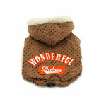 New FW DOBAZ Thick and Wave Point Warm Hoodies Coat Jacket Furry Puppy Clothing