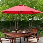 Sell Umbrella Classic Wood Wooden Patio 9 Foot Ft New Style Pool Strand Large
