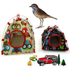 Tent Birdcage Toy Cages Bird Bed House Supply for Pet Parrot Camping Mini S/L us