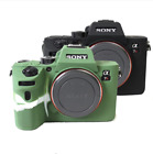 Rubber Silicon Case Body Cover Protector Skin for Sony A7RIII A7RM3