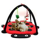 US Pet Dog Cat Funny Play Tent Bed Activity Toys Kitten Puppy Cute Pad Cushion