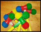 SQUEAKING TOY HAMMER-Portugues Carnival-Beach-Party-Halloween-Xmas-Stocking